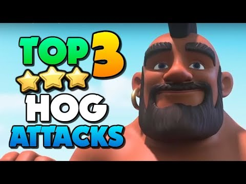 TOP 3 BEST Hog Rider Attacks At Town Hall 10 | Clash Of Clans TH10 Attack Strategy!