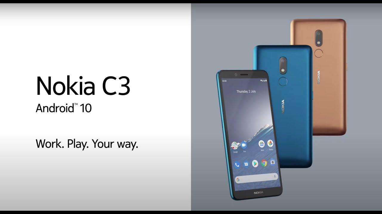 Nokia C3 – Trabaja. Juega. A tu manera.