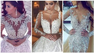 Luxury Rhinestone Beaded And Crystal Wedding Dresses 2019 - Designer Bridal Dresses