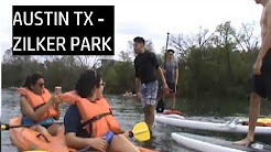 KAYAKING AT ZILKER PARK IN AUSTIN TX