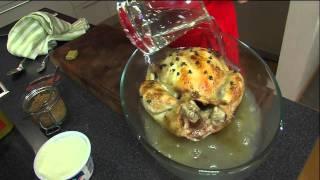 Kyckling med apelsinsås – steg för steg    Arla Köket