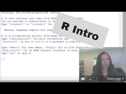 Episode 1-Introduction to R