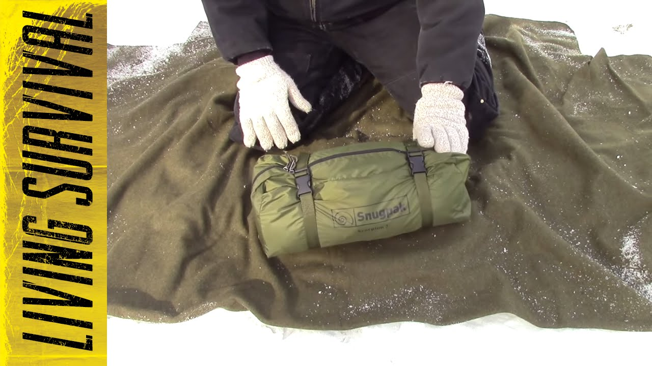& Snugpak Scorpion 2 Tent Setup - YouTube