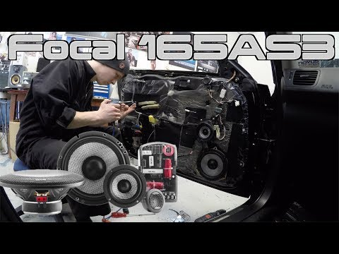 Focal 165AS3 Complete INSTALL & REVIEW | Subaru Legacy McIntosh