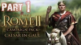 Let's Play Rome 2 Total War: Caesar in Gallien German | HD Römer #1