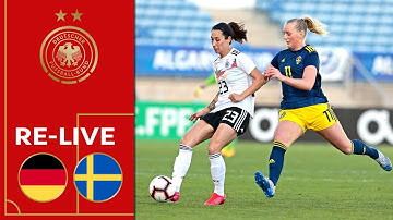 Deutschland - Schweden 1:0 | Re-Live | Frauen | Algarve Cup