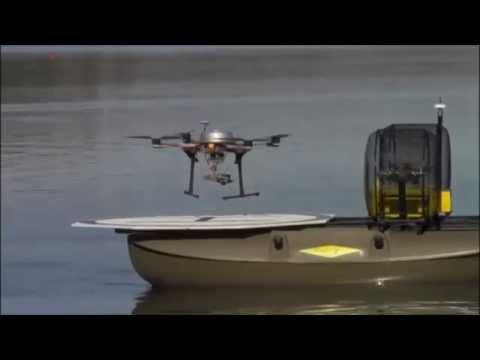Drones Teamwork: aerRobotix CatOne HD4 and Quadrotor