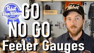 Clyde's Tool Choices - Go No Go Feeler Gauges - Gear Wrench 2424D