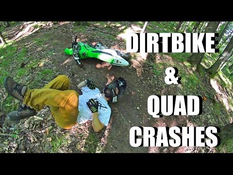 QUAD & DIRT BIKE CRASHES (BROKEN JAW & MORE!!!)