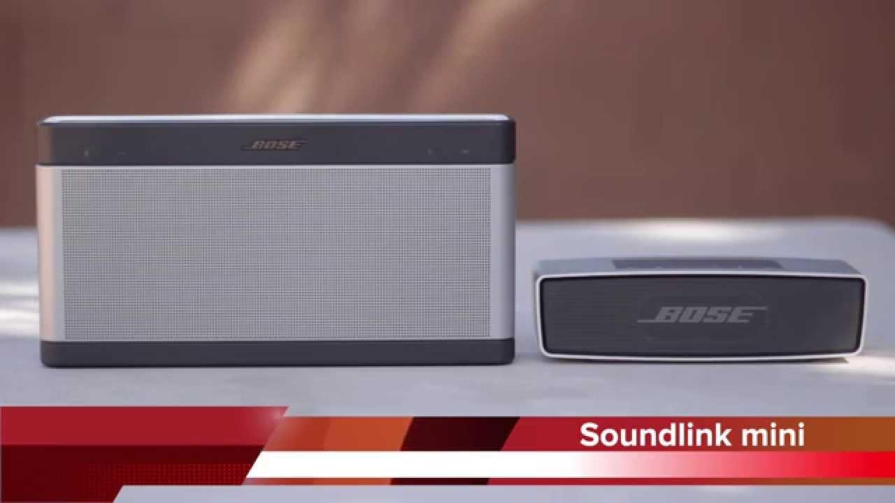 bose soundlink 3 vs bose soundlink mini youtube. Black Bedroom Furniture Sets. Home Design Ideas