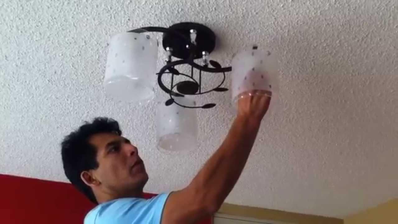 Como instalar lamparas de techo servicios emergencias for Como poner chirok en el techo