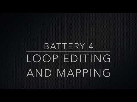 Battery 4 Controls: The Loop and Mapping Editors