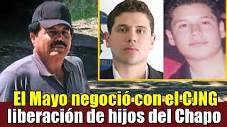 Mayo Zambada negoció liberación de hijos del Chapo: Riodoce