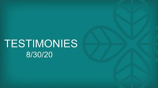 202000830 Testimony Sunday