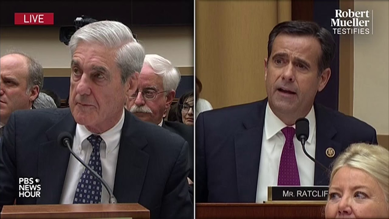 John Ratcliffe, Trump nominee for DNI, attacked Mueller during hearings