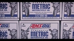 AMSOIL motorcycle oil change in West Chester Pennsylvania
