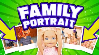 Barbie - Family Portrait