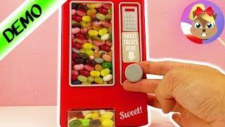 Automat ze słodyczami W DOMU! Słodkości w pokoju dziecięcym - słodka nagroda, łatwa obsługa