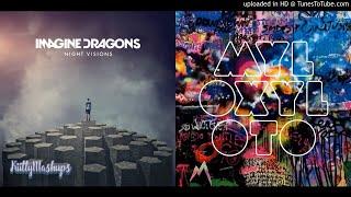 Video Princess of The River (Mashup) - Imagine Dragons & Coldplay (feat. Rihanna) download MP3, 3GP, MP4, WEBM, AVI, FLV November 2017