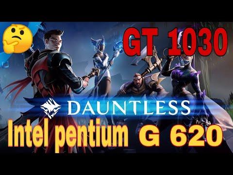 DAUNTLES EN GT 1030 + Intel Pentium G620