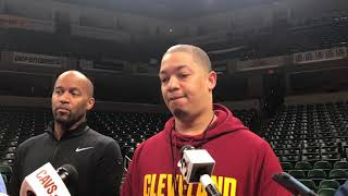 Tyronn Lue says Tristan Thompson will get his chance in Game 4 against Pacers