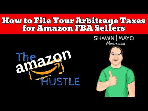 How to File Your Arbitrage Taxes for Amazon FBA/Ecommerce Sellers -CPA Michael Fletcher & Shawn Mayo