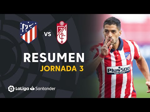 Atletico Madrid Granada Goals And Highlights