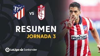 Resumen de Atlético de Madrid vs Granada CF (6-1)