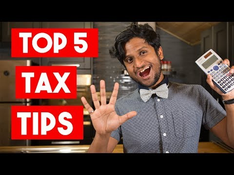 Top 5 Tax Tips For Young Canadians