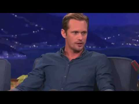 Alexander Skarsgard best interview and Funniest Moments 1