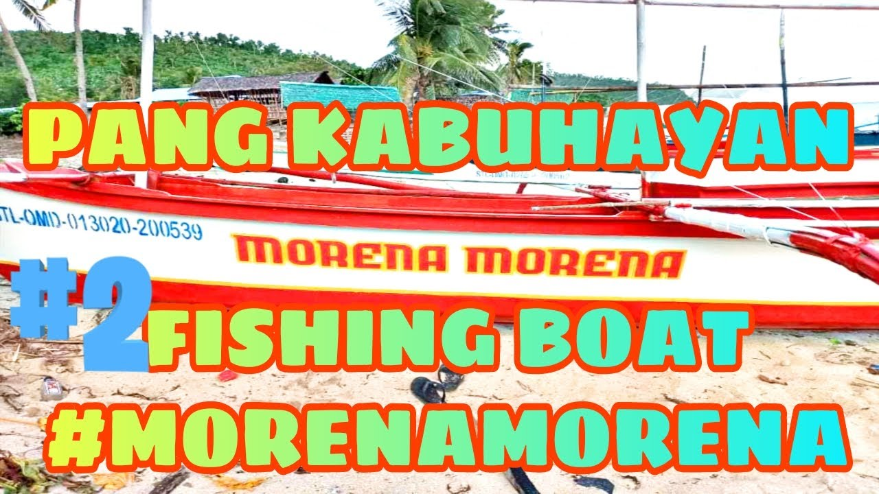Download Our second pang kabuhayan fishing boat(Re-Paint)||Katas OFW||Morena Morena