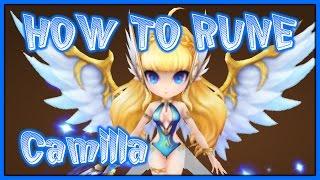 HOW TO RUNE CAMILLA (WATER VALKYRJA) | G3 SUMMONERS WAR REVIEW