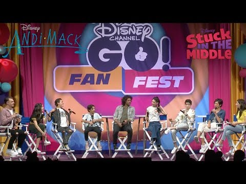 LIVE NOW! Andi Mack & Stuck in the Middle at Disney Channel GO! Fan Fest