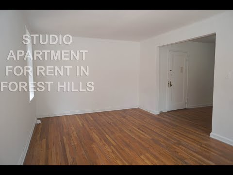 Big Studio apartment with den for rent in Forest Hills, Queens, NYC