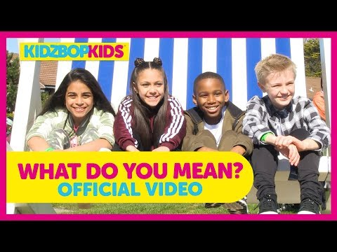 KIDZ BOP Kids  What Do You Mean? KIDZ BOP