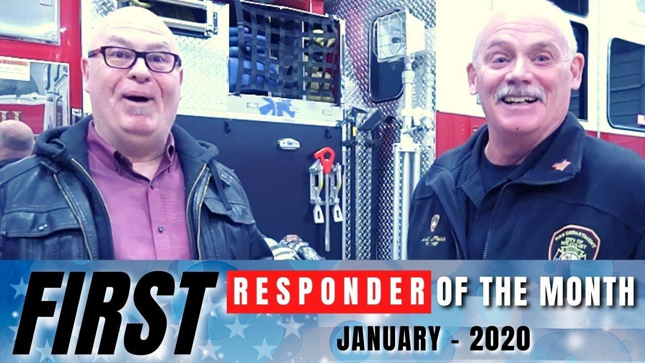 Mount Juliet Fire Chief, Jamie Luffman