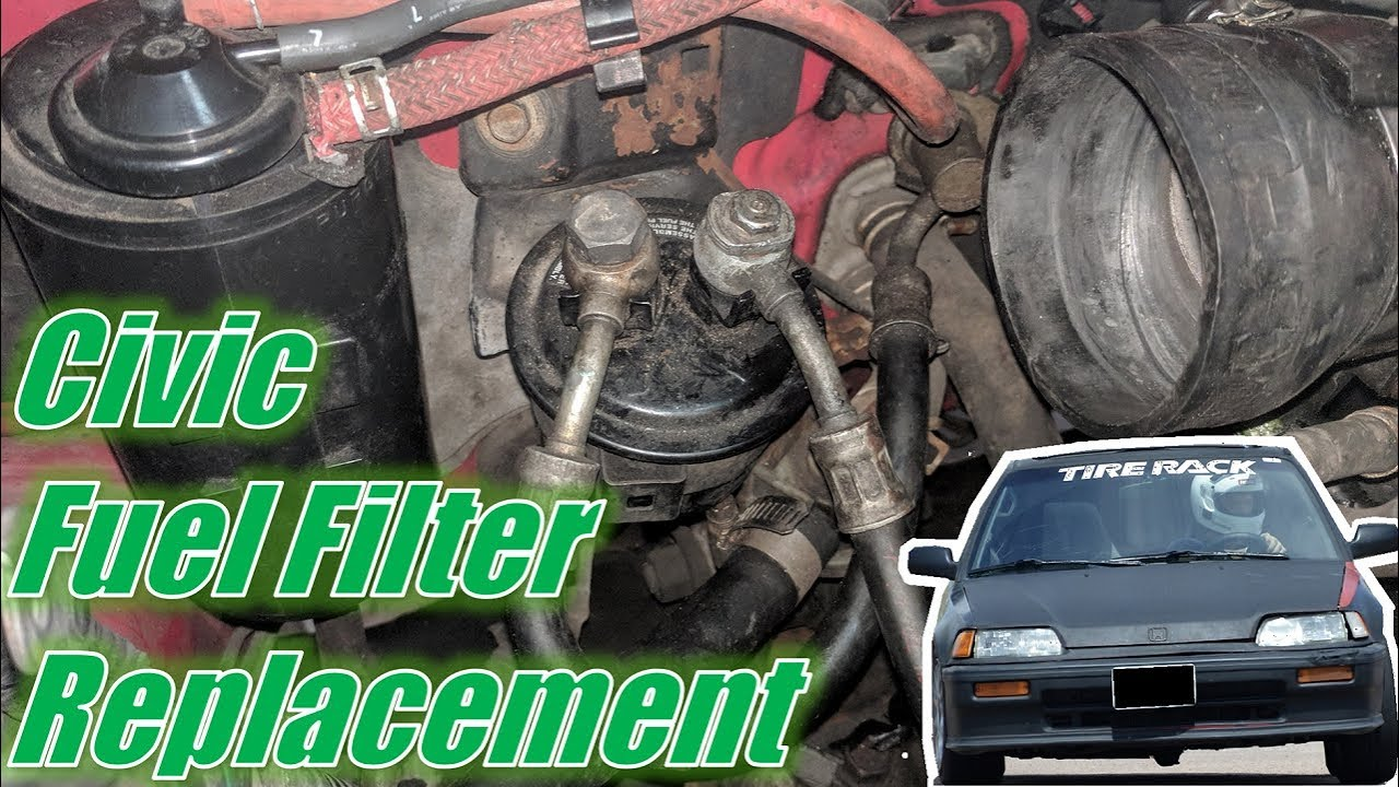 [DIAGRAM_4FR]  EF Civic/CRX Fuel Filter Replacement - YouTube | 1984 Honda Accord Fuel Filter |  | YouTube