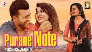 Purane Note Ruchika Jangid Free MP3 Song Download 320 Kbps