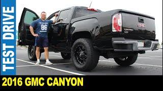 2016 GMC Canyon crew cab pickup truck SLE trim custom rims driven by Jarek Clearwater Florida USA