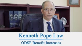 ODSP Benefit Increases