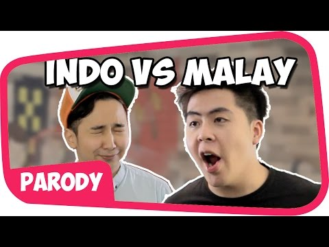 INDONESIA Vs MALAYSIA YOUTUBER W/ DMingThing