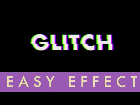 How To Make Glitch Effect In After Effects   Easy Tutorial