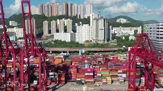 Publication Date: 2020-08-19 | Video Title: [4K航拍] 葵涌貨櫃碼頭-荔景-石籬村-金山-大圍
