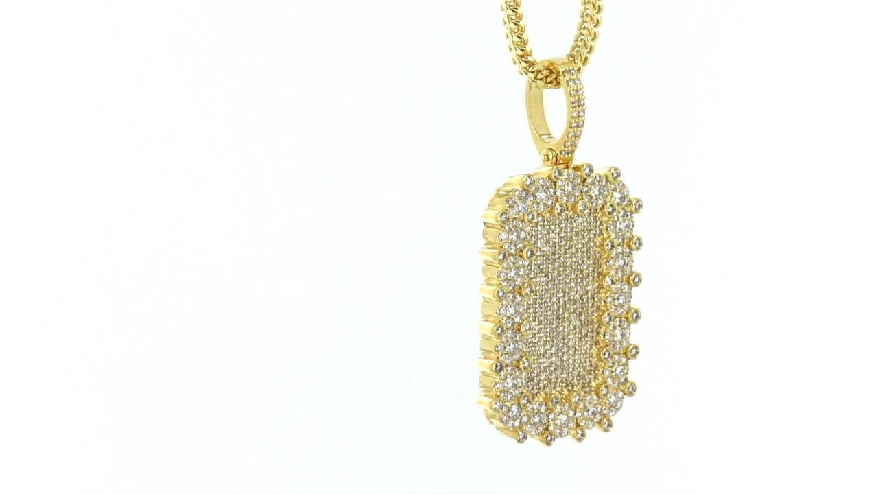 14k real solid gold genuine diamonds custom dog tag pendant item no 14k real solid gold genuine diamonds custom dog tag pendant item no 5619 aloadofball Image collections