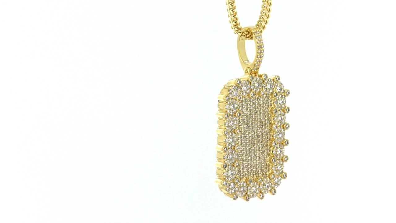 14k real solid gold genuine diamonds custom dog tag pendant item no 14k real solid gold genuine diamonds custom dog tag pendant item no 5619 mozeypictures Images