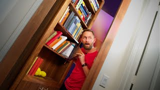 We Made a Secret Door in J-Fred's House! *Feat. Matthias!!*