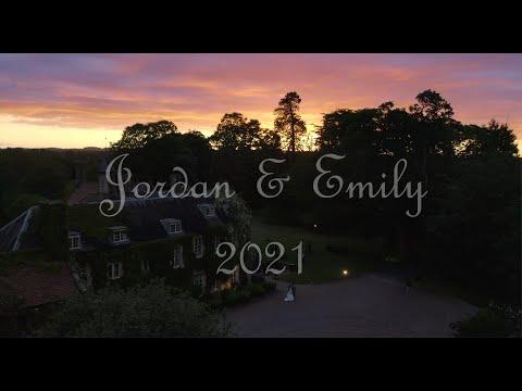 Jordan & Emily Drone Wedding UHD4K #Somerset #MaunselHouse #Droneweddings