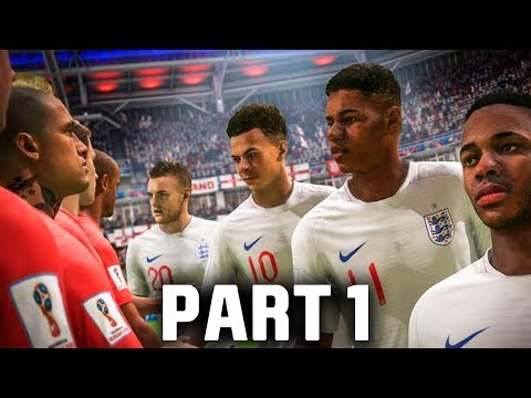 FIFA 18 World Cup Gameplay Walkthrough Part 1 - GROUP STAGES (ENGLAND)