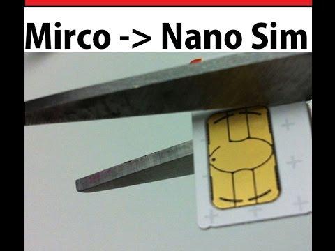 Nano Karte Zuschneiden.Große Mirco Sim Chip Zu Nano Chip Zuschneiden Mirco Sim Cut Nano Sim Chip
