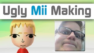 Ugly Mii Making